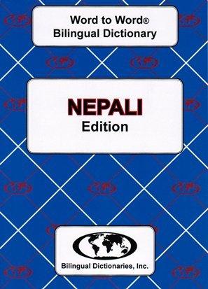 English-Nepali & Nepali-English Word-to-Word Dictionary: Suitable for Exams: C. Sesma
