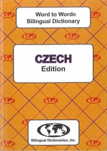 9780933146624: Czech BD Word To Word Dictionary (Suitable for Exams)