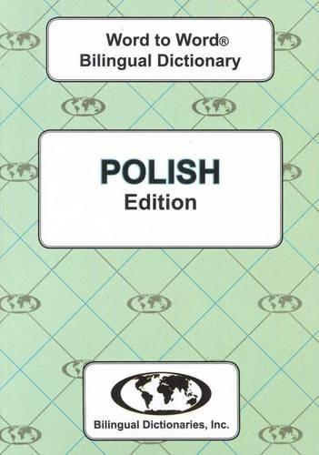 English-Polish Polish-English Word-to-Word Dictionary: Suitable for Exams