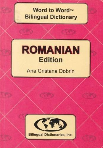 9780933146914: English-Romanian & Romanian-English Word-to-Word Dictionary: Suitable for Exams (English and Multilingual Edition)