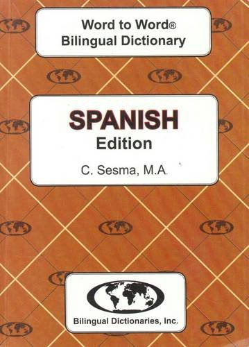 9780933146990: English-Spanish & Spanish-English Word-to-word Dictionary