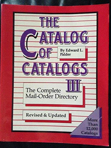 9780933149595: Catalog of Catalogs: Complete Mail-order Directory
