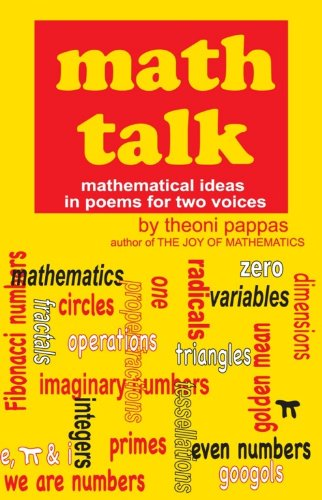9780933174740: Math Talk: Mathematical Ideas in Poems for Two Voices