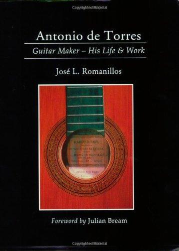 9780933224933: Antonio De Torres: Guitar Maker-His Life and Work (Yehudi Menuhin music guides)