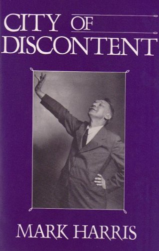 9780933256750: City of Discontent: An Interpretive Biography of Vachel Lindsay, Being Also the Story of Spingfieldfor That City, That State and That Nation