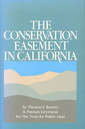 9780933280205: The Conservation Easement in California