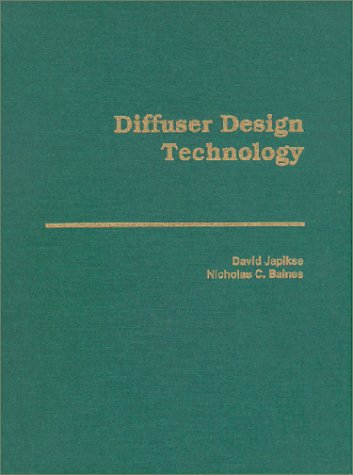 9780933283084: Turbomachinery Diffuser Design Technology