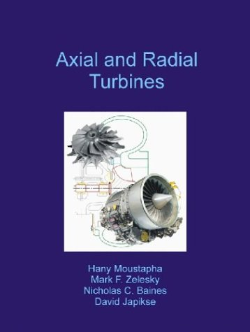 Axial and Radial Turbines: Moustapha, Haney/ Zelesky,