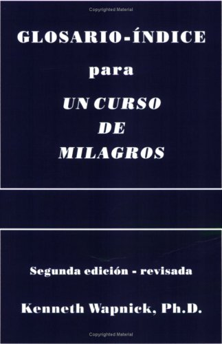 9780933291201: Glosario-Indice Para