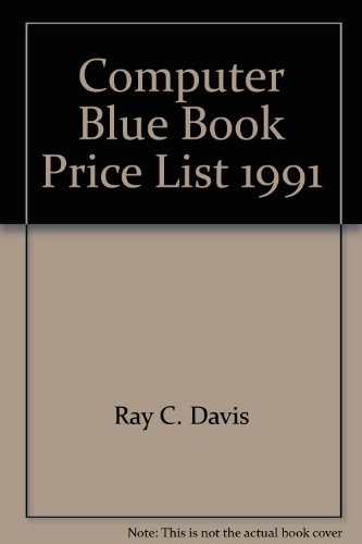 The Computer Blue Book, 1990: The Official New and Used Computer Price Guide: n/a