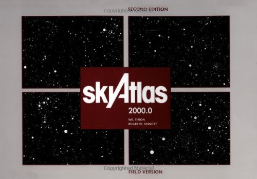9780933346871: Sky Atlas 2000.0: Twenty-Six Star Charts, Covering Both Hemispheres, and Seven Detailed Charts of Selected Regions