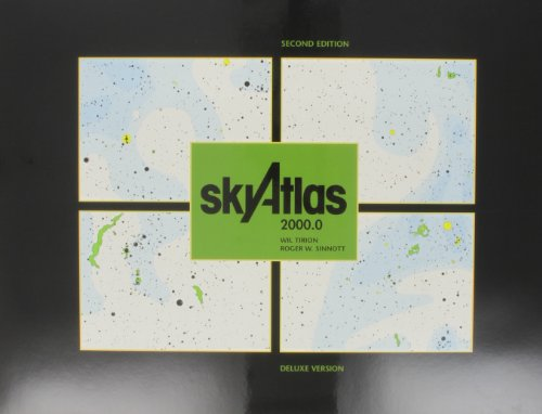 9780933346901: Sky Atlas 2000.0, 2nd Deluxe Laminated Version