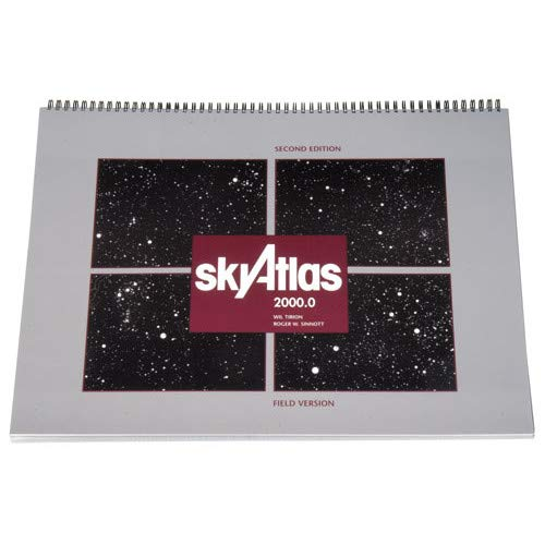 9780933346925: Sky Atlas 2000.0: Twenty-Six Star Charts, Covering Both Hemispheres, and Seven Detailed Charts of Selected Regions