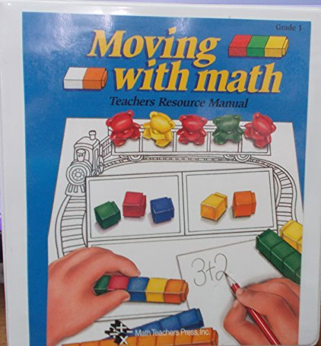 9780933383944: Moving With Math - Teacher's Resource Manual - Grade 1