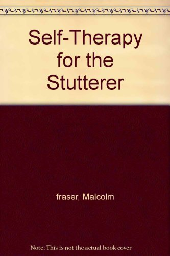 9780933388147: Self-Therapy for the Stutterer