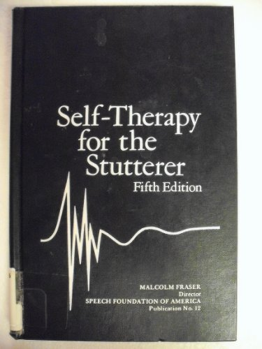 9780933388246: Self-Therapy for the Stutterer (Speech Foundation of America, Publication No....