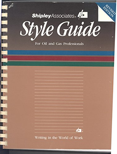 9780933427013: Style Guide for Oil and Gas Professionals