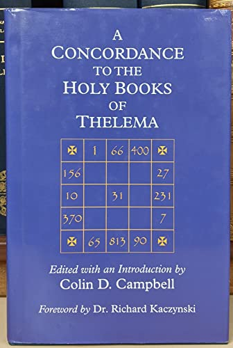 9780933429000: A Concordance to the Holy Books of Thelema