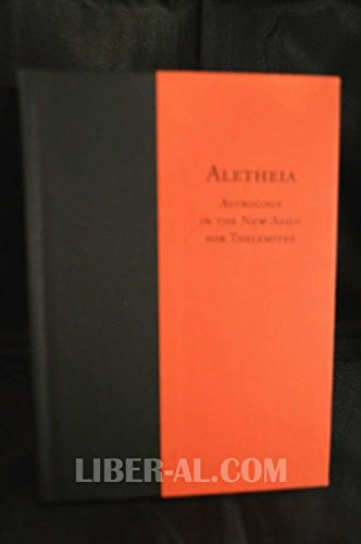 9780933429888: Aletheia. Astrology in the New Aeon for Thelemites