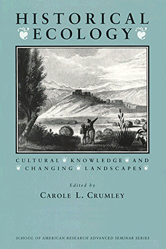 9780933452855: Historical Ecology: Cultural Knowledge and Changing Landscapes (School for Advanced Research Advanced Seminar Series)