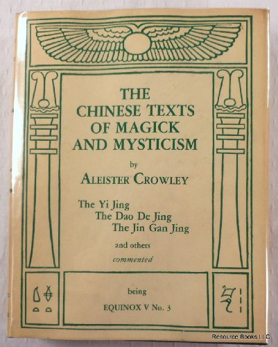 9780933454026: The Chinese Texts of Magick and Mysticism (The Equinox: Volume V, Number 3)
