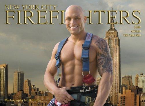 9780933477247: New York City Firefighters Calendar-2009 Gold Standard