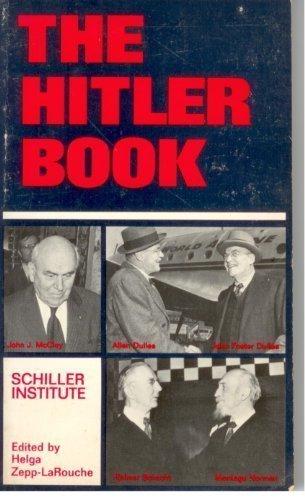 9780933488373: Hitler Book: A Schiller Institute Study