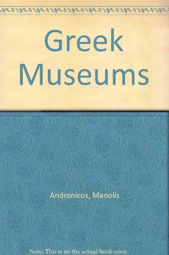 9780933516373: Greek Museums