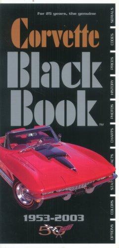 9780933534353: Corvette Black Book- 1953-1993