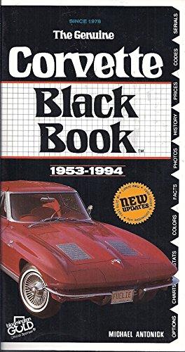 9780933534360: Corvette Black Book, 1953-1994