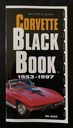 9780933534391: Corvette Black Book 1953-1997