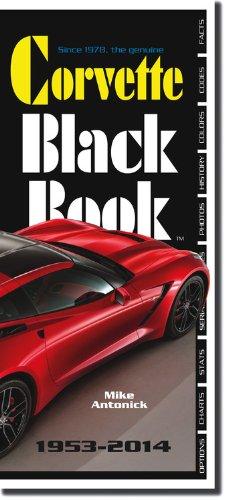 9780933534582: Corvette Black Book 1953-2014