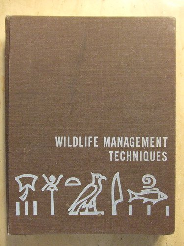 9780933564084: Wildlife Management Techniques Manual
