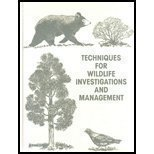 9780933564152: Techniques for Wildlife Investigation and Management