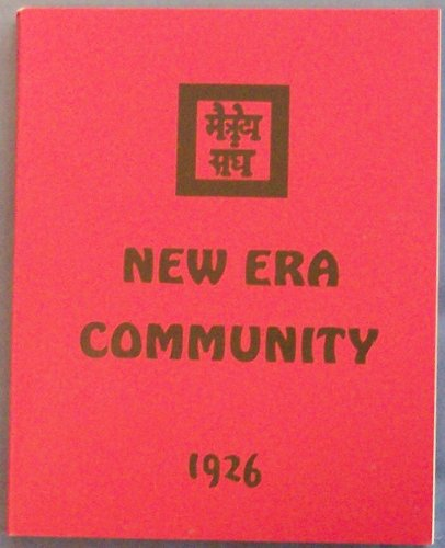 9780933574038: New Era Community 1926