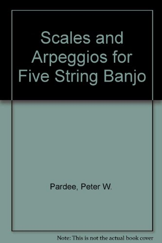 9780933611009: Scales and Arpeggios for Five String Banjo