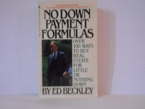 No Down Payment Formulas: Beckley, Ed