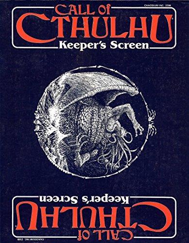 9780933635180: Keeper's Screen (Call of Cthulhu)