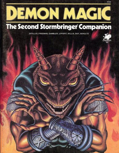9780933635227: Demon Magic: The second Stormbringer Companion
