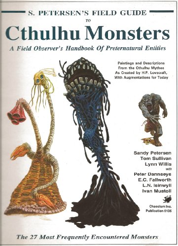 9780933635487: Petersen's Field Guide to Cthulhu Monsters