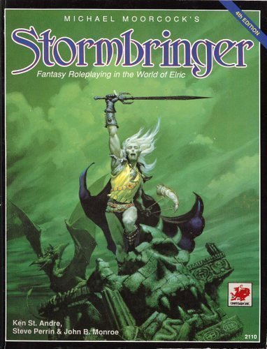 9780933635661: Michael Moorcock's Stormbringer: Fantasy Roleplaying in the World of Eric