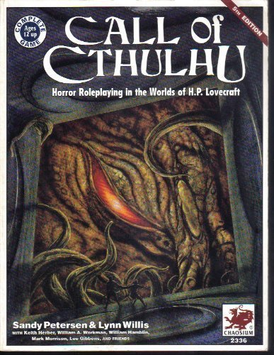 9780933635869: Call Of Cthulhu: Horror Roleplaying In the Worlds Of H.P. Lovecraft (5th Edition - Chaosium #2336)