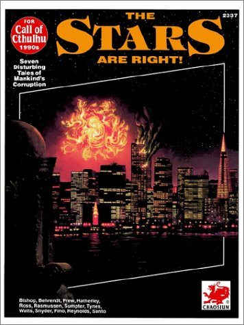 Stars are Right! Seven Modern Horros (Call of Cthulhu)