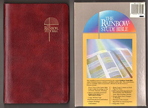 9780933657007: The Rainbow Study Bible: Holy Bible Containing the Old and New Testaments, King James Version