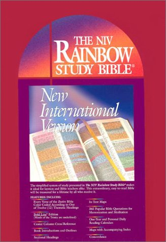 9780933657182: The Rainbow Study Bible New International Version