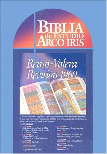 9780933657274: Biblia De Estudio Arco Iris: Reina-Valera Revision 1960, Rainbow Edition (Spanish Edition)