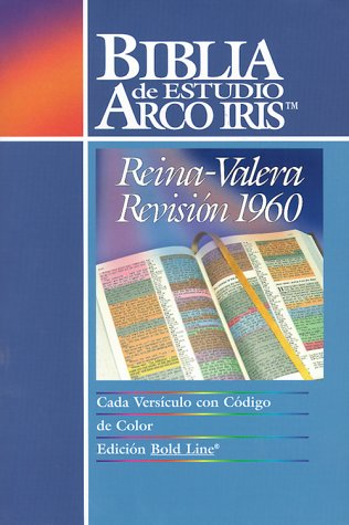 9780933657281: Biblia de Estudio Arco Iris-Rvr 1960