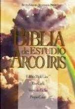 9780933657373: LA Biblia De Estudio Arco Iris: The Rainbow Study Bible Reina-Valera Revision 1960 (Spanish Edition)