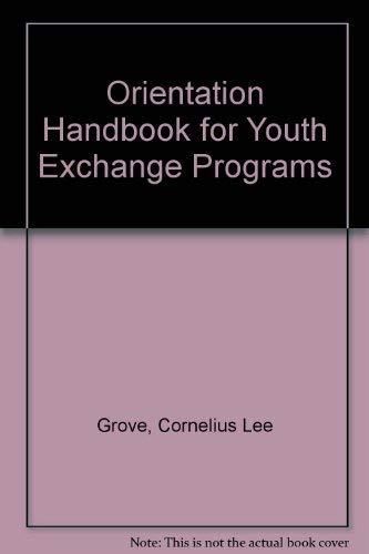9780933662766: Orientation Handbook for Youth Exchange Programs