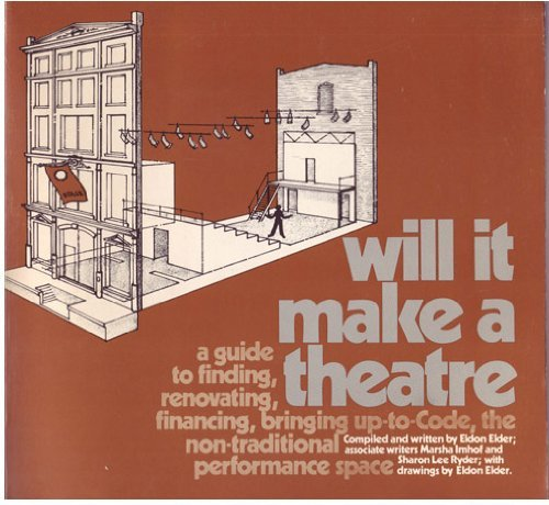 9780933750005: Will It Make a Theatre: A Guide to Finding, Renovating, Financing, Bringing Up-to-Code, the Non-Traditional Performance Space